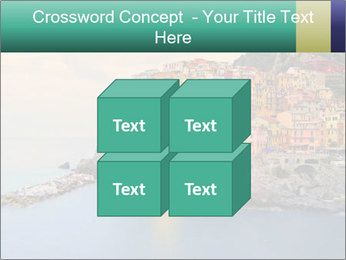 Italian Seaside Village PowerPoint Template - Slide 39