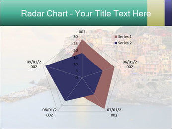 Italian Seaside Village PowerPoint Template - Slide 51