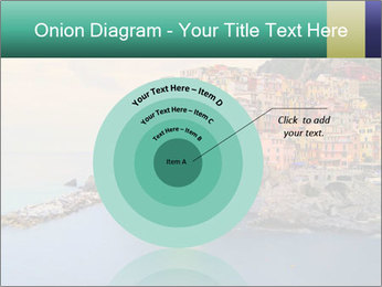 Italian Seaside Village PowerPoint Template - Slide 61