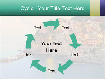 Italian Seaside Village PowerPoint Template - Slide 62