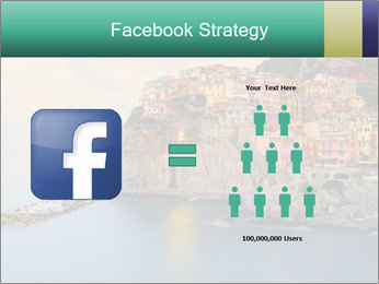 Italian Seaside Village PowerPoint Template - Slide 7