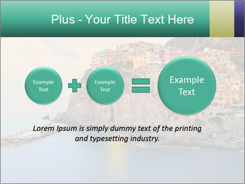 Italian Seaside Village PowerPoint Template - Slide 75