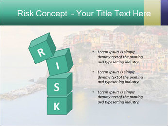 Italian Seaside Village PowerPoint Template - Slide 81