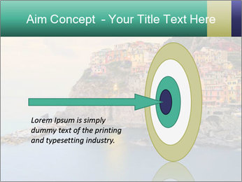 Italian Seaside Village PowerPoint Template - Slide 83
