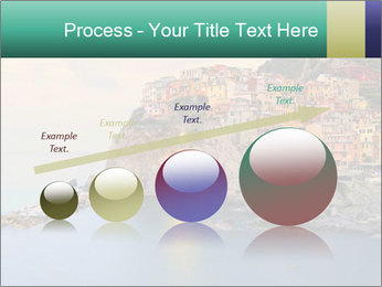 Italian Seaside Village PowerPoint Template - Slide 87