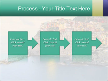Italian Seaside Village PowerPoint Template - Slide 88