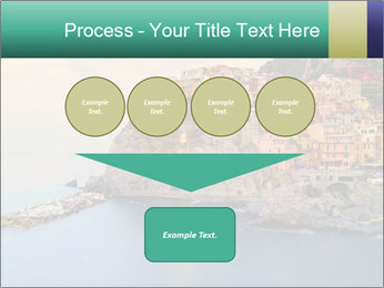 Italian Seaside Village PowerPoint Template - Slide 93