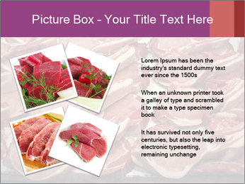 Uncooked Red Meet PowerPoint Templates - Slide 23
