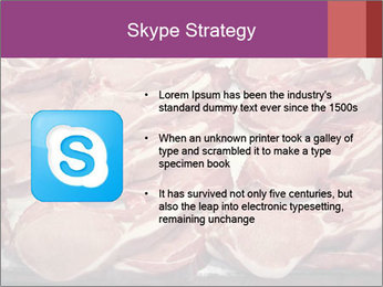 Uncooked Red Meet PowerPoint Templates - Slide 8