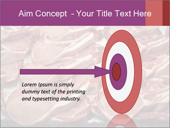 Uncooked Red Meet PowerPoint Templates - Slide 83