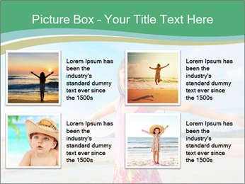 Small Girl In Pink Swimsuit PowerPoint Template - Slide 14