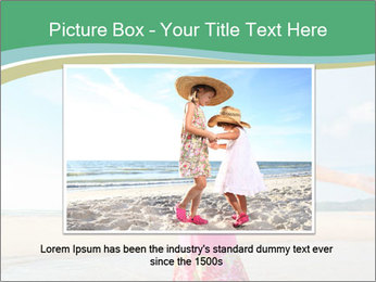 Small Girl In Pink Swimsuit PowerPoint Template - Slide 15