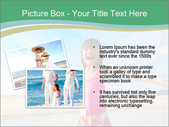 Small Girl In Pink Swimsuit PowerPoint Template - Slide 20