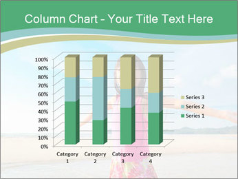 Small Girl In Pink Swimsuit PowerPoint Template - Slide 50