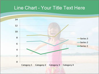 Small Girl In Pink Swimsuit PowerPoint Template - Slide 54