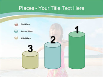 Small Girl In Pink Swimsuit PowerPoint Template - Slide 65