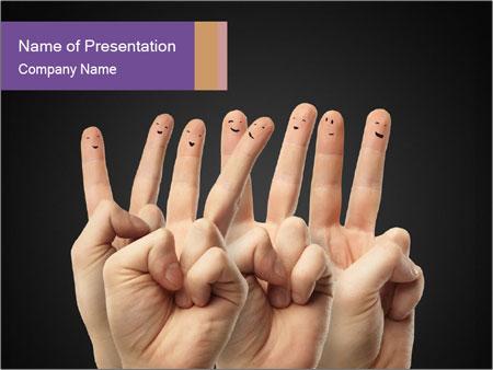 Finder Friends PowerPoint Template