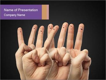 Finder Friends PowerPoint Template - Slide 1