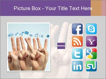 Finder Friends PowerPoint Template - Slide 21