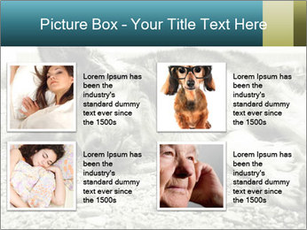 Sad Dog PowerPoint Template - Slide 14