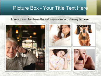 Sad Dog PowerPoint Template - Slide 19