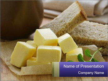 Bread And Butter PowerPoint Template
