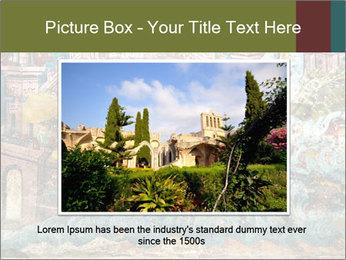 Medieval Fresco Art PowerPoint Template - Slide 16
