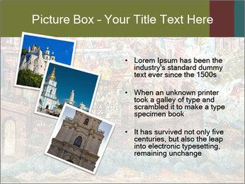 Medieval Fresco Art PowerPoint Template - Slide 17