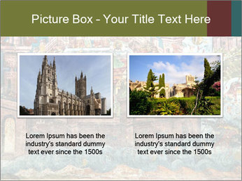 Medieval Fresco Art PowerPoint Template - Slide 18