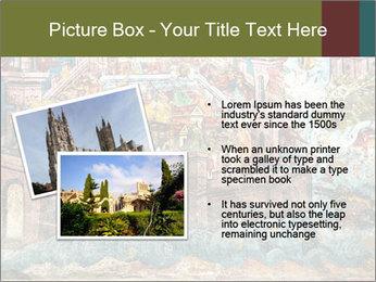 Medieval Fresco Art PowerPoint Template - Slide 20