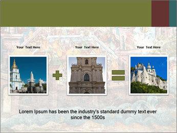 Medieval Fresco Art PowerPoint Template - Slide 22