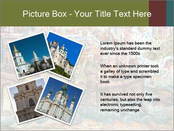 Medieval Fresco Art PowerPoint Template - Slide 23