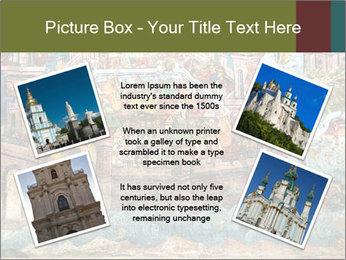 Medieval Fresco Art PowerPoint Template - Slide 24