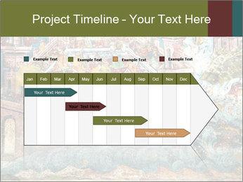 Medieval Fresco Art PowerPoint Template - Slide 25