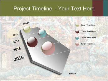 Medieval Fresco Art PowerPoint Template - Slide 26