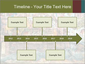 Medieval Fresco Art PowerPoint Template - Slide 28