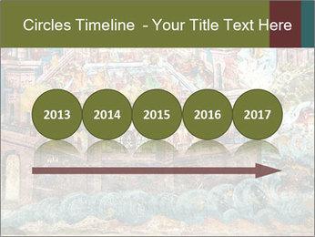 Medieval Fresco Art PowerPoint Template - Slide 29