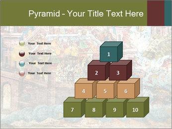 Medieval Fresco Art PowerPoint Template - Slide 31