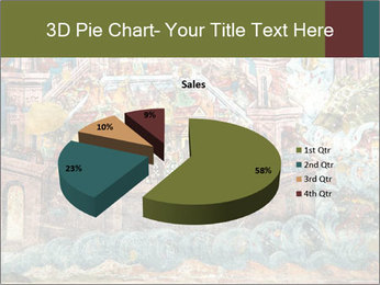 Medieval Fresco Art PowerPoint Template - Slide 35