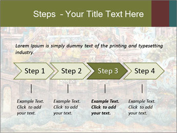 Medieval Fresco Art PowerPoint Template - Slide 4