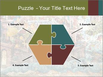 Medieval Fresco Art PowerPoint Template - Slide 40