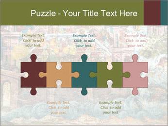 Medieval Fresco Art PowerPoint Template - Slide 41