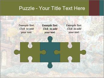 Medieval Fresco Art PowerPoint Template - Slide 42