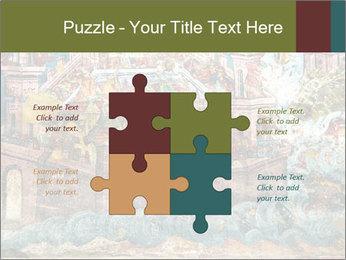 Medieval Fresco Art PowerPoint Template - Slide 43