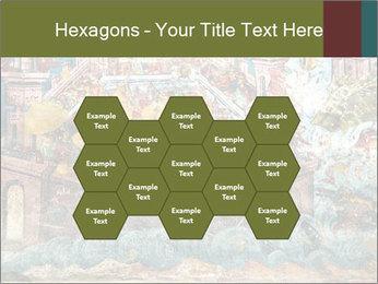 Medieval Fresco Art PowerPoint Template - Slide 44