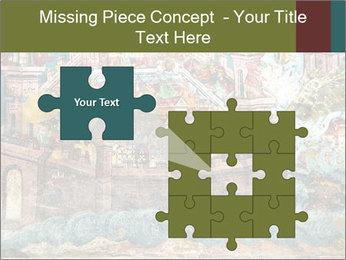 Medieval Fresco Art PowerPoint Template - Slide 45