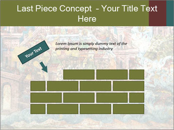 Medieval Fresco Art PowerPoint Template - Slide 46
