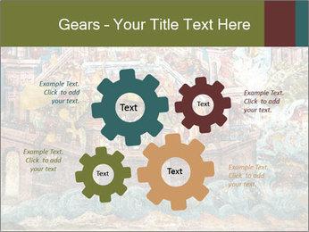 Medieval Fresco Art PowerPoint Template - Slide 47