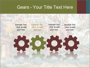 Medieval Fresco Art PowerPoint Template - Slide 48