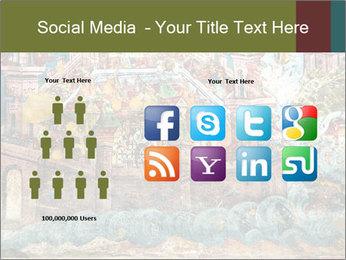 Medieval Fresco Art PowerPoint Template - Slide 5